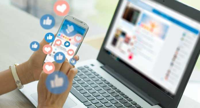 Social media 'likes'