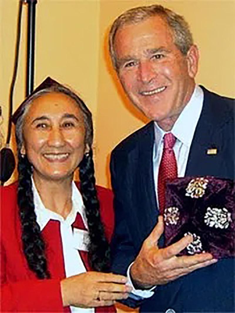 Kadeer and Pres. Bush