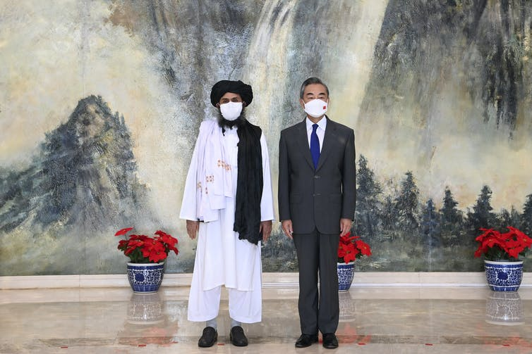 Taliban-Chinese Minister