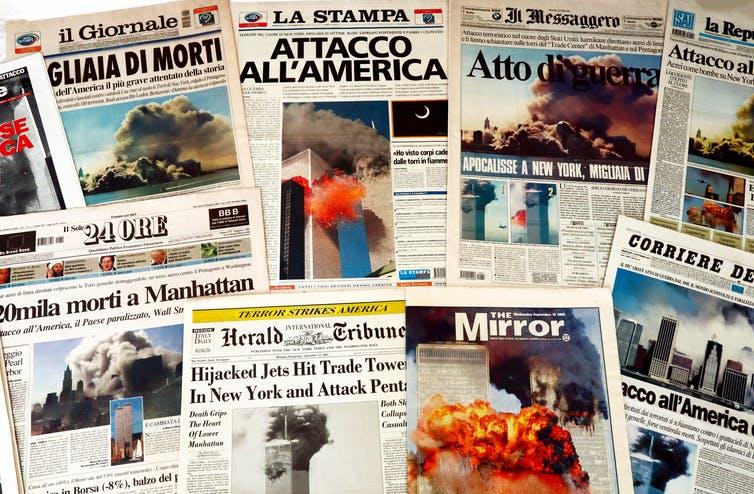 911 Attack Newspaper
